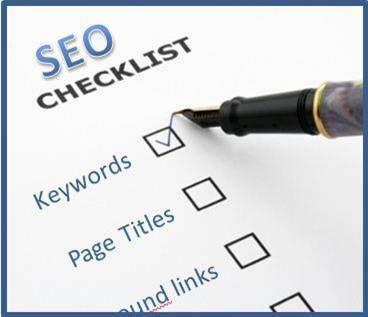 Seo Checklist Funciona