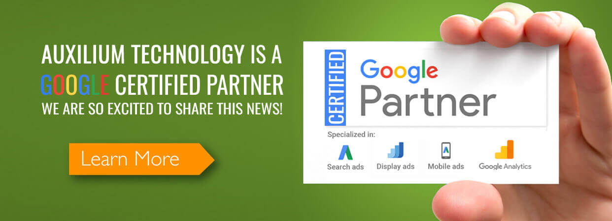 Auxilium Technology – Google Certified Partner